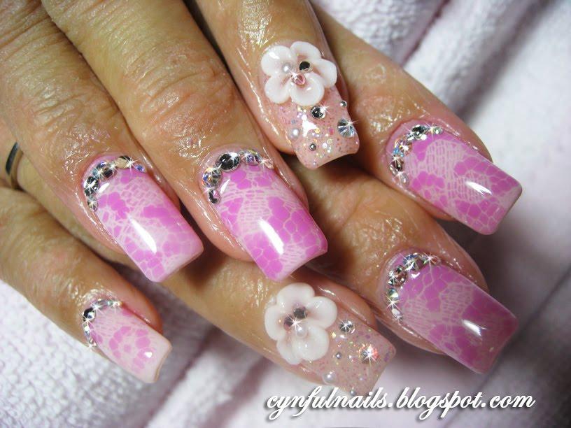 Nail art: Airbrush nail art