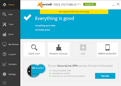 ScreenShot121 S-a lansat Avast 2014 Beta