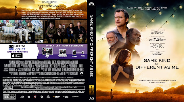 Same Kind of Different as Me Bluray Cover