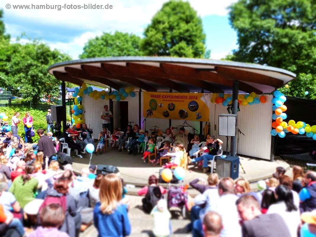 Kinderfest Hamburg Wabe Experimenta Freilichtbuehne Planten un Blomen