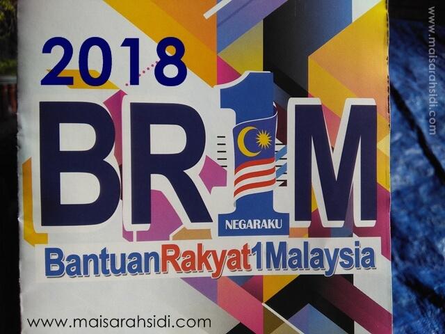 tarikh mohon dan kemaskini BR1M 2018