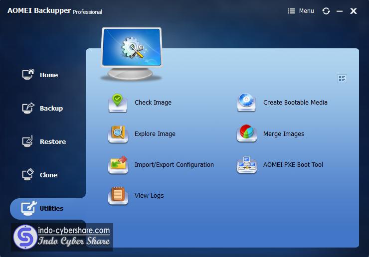 AOMEI Backupper Professional Indo Cyber Share