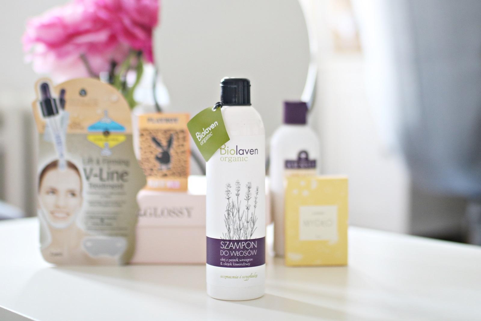 beGLOSSY MOC NIESPODZIANEK  pudełko czerwiec 2017 - szampon biolaven