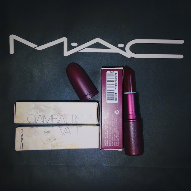 MAC Cosmetics Giambattista Valli lipstick in Eugenie