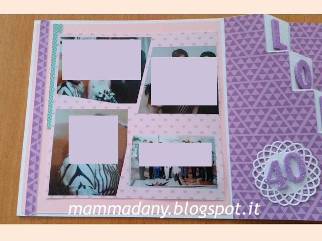 foto sul lato sinistro della card