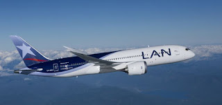 Avión de Lan Chile.