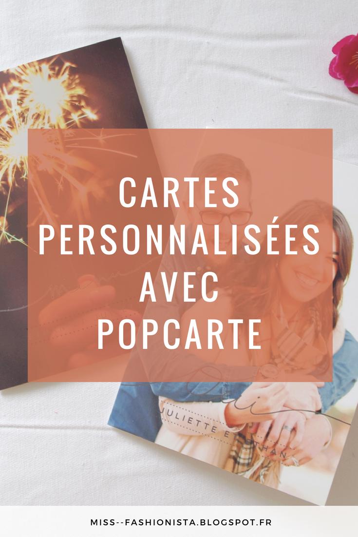 Créer des cartes personnalisées sur Popcarte
