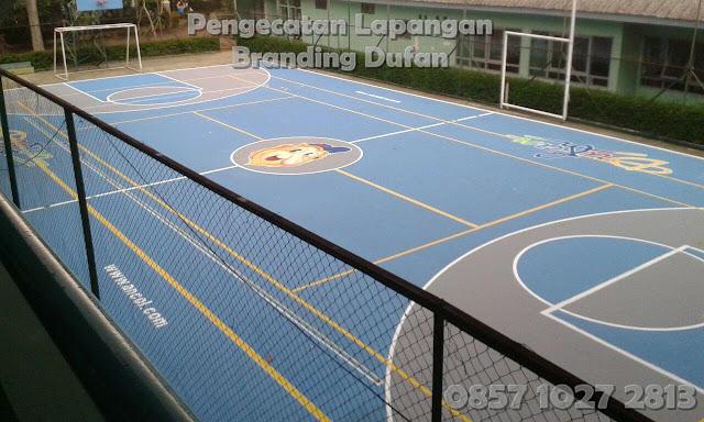 Branding Cat Lapangan Dufan