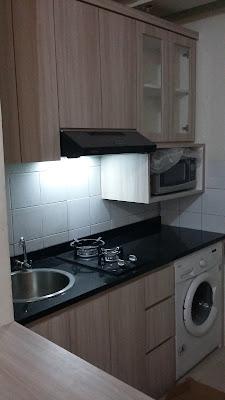 Model Kitchen Set Apartemen Di Bekasi Kamar Studio