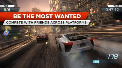 تحميل لعبة سباق  السيارات للاندرويد nfs most wanted