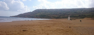 Rambla Bay, Isla de Gozo, Malta.
