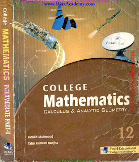 COLLEGE MATHEMATICS for 12th Class