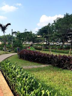 Jooging Track & Green Garden