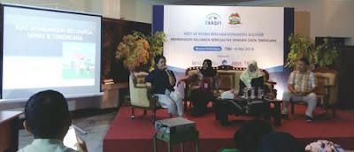 Suasana Meet Up BKKBN untuk kampanye Cinta Terencana