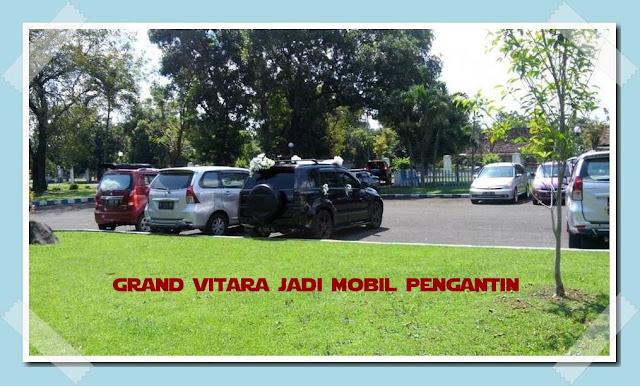Mobil pengantin grand vitara
