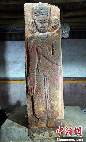 Oldest buddhist stele discovered in Tibet