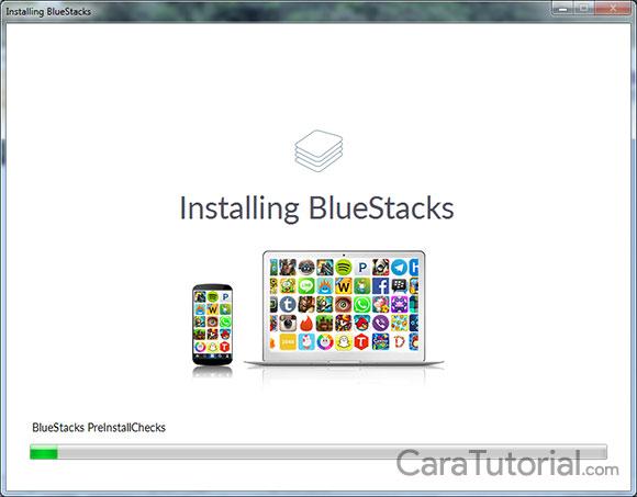 Installing BlueStacks