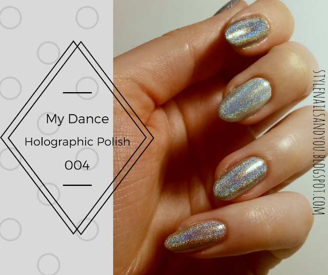 My Dance Holographic Nail Polish 004| BeautyBigBang