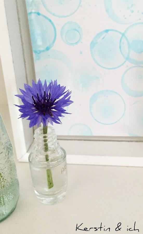 Seifenblasenbilder Kornblumen