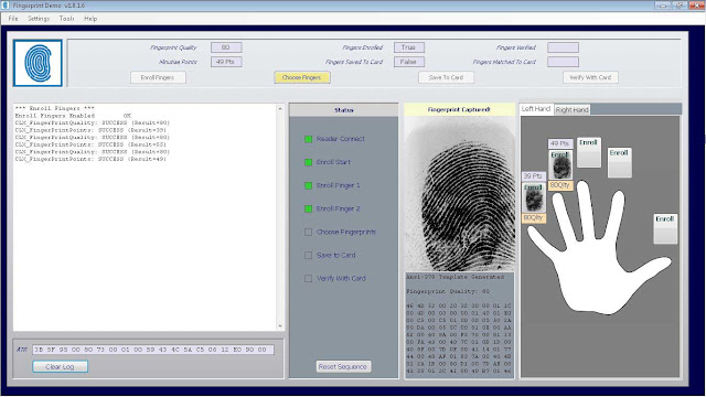 FINGER PRINT BIOMETRIC SOFTWARE