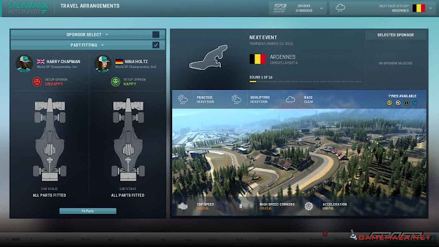 Motorsport Manager Gameplay Screenshot 3