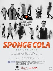 "SPONGE COLA to Hold ""SEA OF LIGHTS"" Concert on March 29 at Power Mac Spotlight Circuit Makati"
