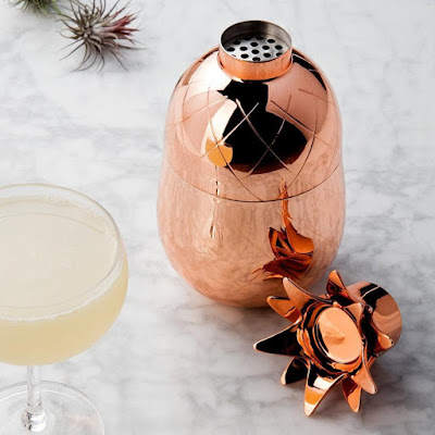 Copper Pineapple Shaped Shaker