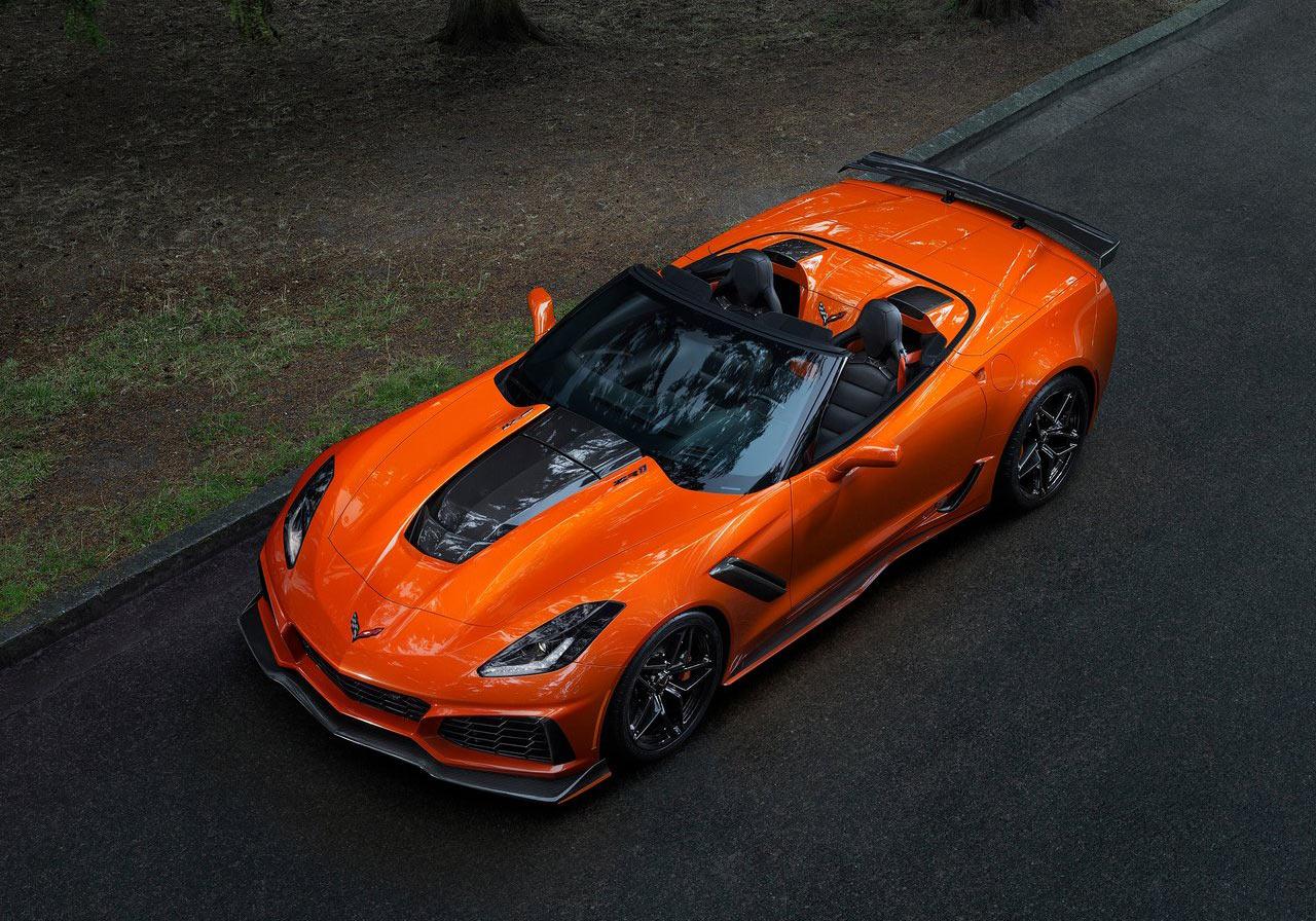 2019 Corvette Zr1 Convertible Drops 755 Horses In La
