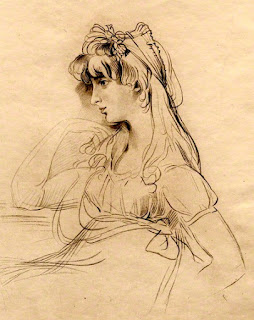 "Sarah Martha ""Sally"" Siddons  by FC Lewis after Sir Thomas Lawrence  Stipple engraving published 1841  © National Portrait Gallery, London"