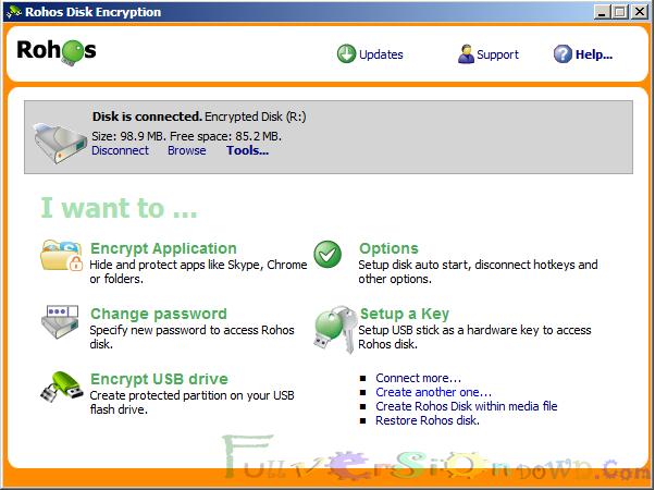 Rohos Disk Encryption Full Version
