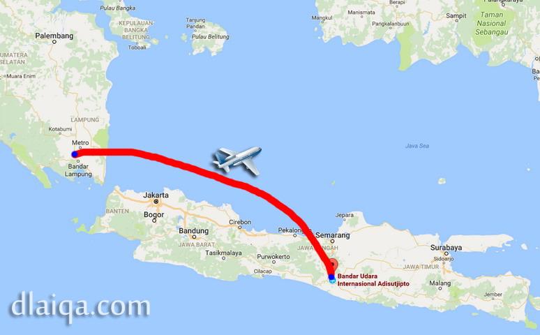 D Laiqa Arena Lampung Yogyakarta Sekarang Dilayani Sriwijaya Air