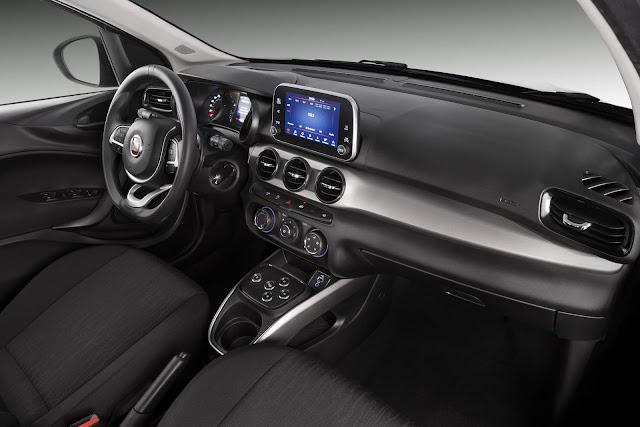 Fiat Argo ganha multimídia de 9 polegadas na versão Drive