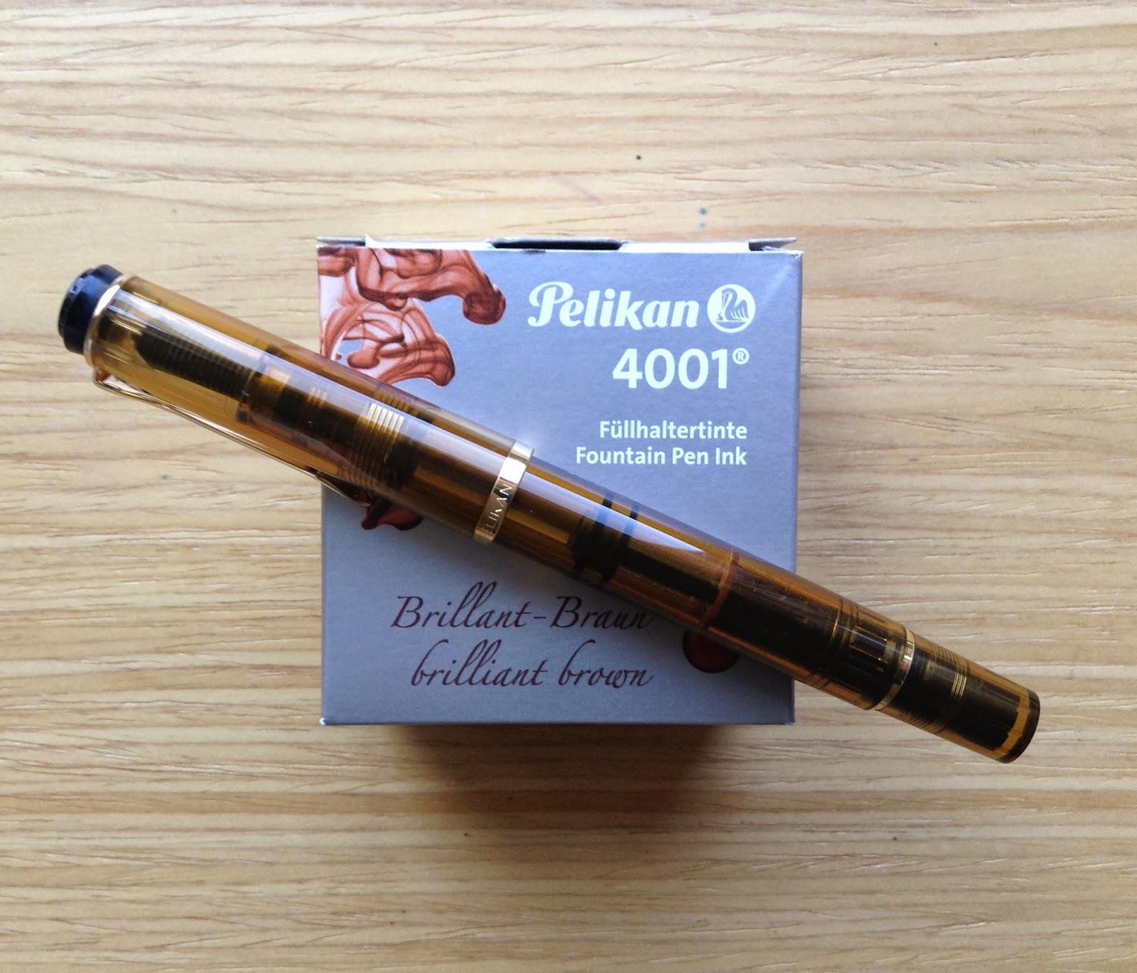 Dolma Kalem Murekkep Ve K Rtasiye Tavsiyeleri Pelikan Traditional M250 Amber Brown