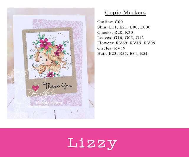 Heather's Hobbie Haven - Whimsy Stamps Freebie - Lizzy