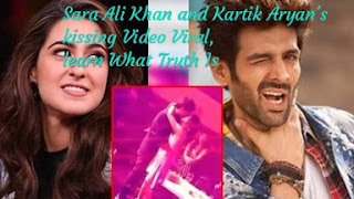 Sara Ali Khan and Kartik Aryan's Kissing Video Viral, Learn What Truth Is