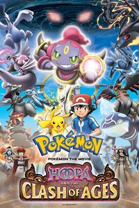 Poster Pokémon the Movie: Hoopa and the Clash of Ages