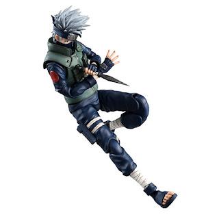 Variable Action Heroes DX Hatake Kakashi de Naruto - MegaHouse
