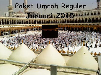Paket Umroh Reguler Januari 2015
