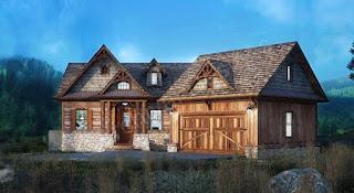 Lake-House-Plans-Wood