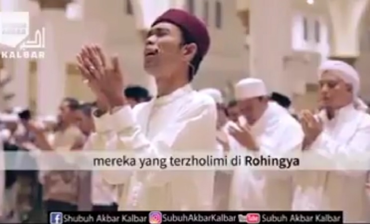 Doa Qunut Ustadz Abdul Somad untuk Muslim Rohingya