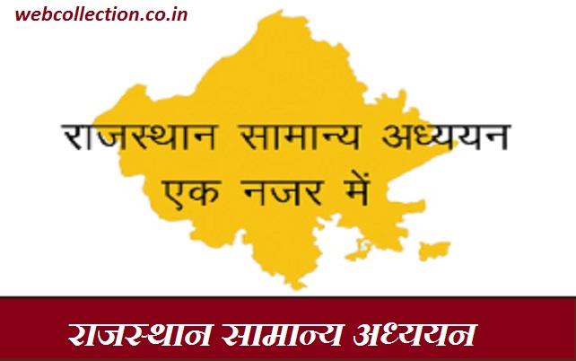 राजस्थान एक नजर