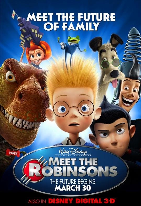 Meet The Robinsons ผจญภัยครอบครัวจอมเพี้ยน ฝ่าโลกอนาคต [HD][พากย์ไทย]