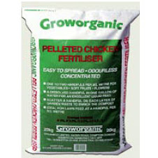 6x Pelleted Chicken Fertiliser