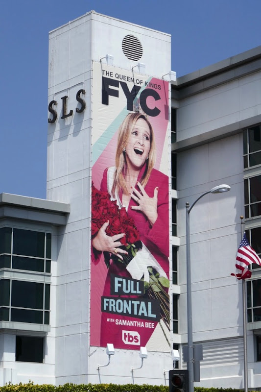 Full Frontal Samantha Bee 2018 Emmy FYC billboard