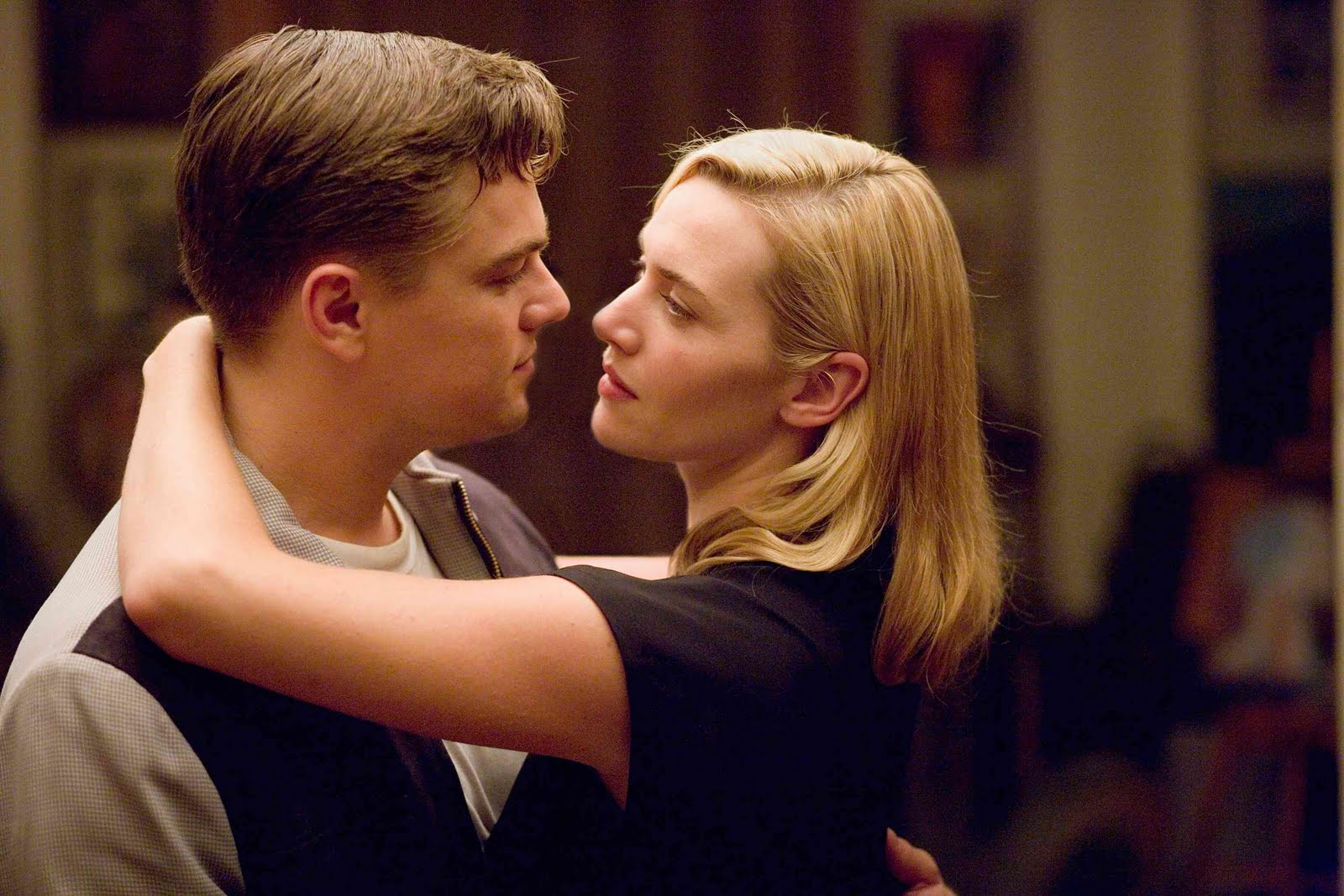 PHOTOS La réaction de Kate Winslet quand Leonardo DiCaprio a
