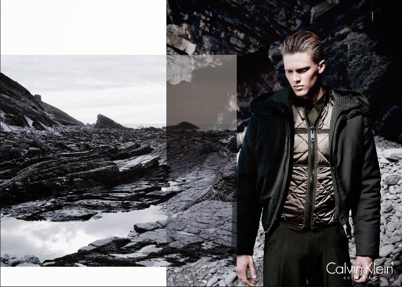 Calvin Klein Fall Winter 2014 Campaign featuring Vanessa Axente 2ac00b6b95