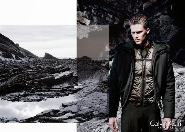 Calvin Klein Fall/Winter 2014 Campaign featuring Vanessa Axente