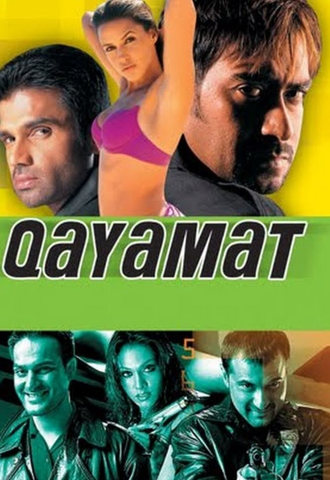Qayamat City Under Threat 2003 Hindi Movie 500MB HDRip 480p ESubs