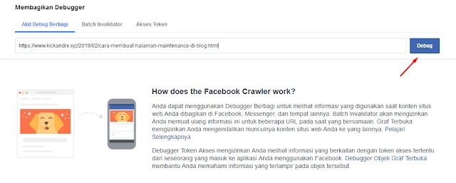 Masuk ke Facebook Developer