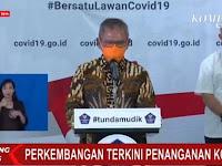 Merinding... Dokter Tifa Ungkap Makna Simbol ''Masker Orange'' Yang Dipakai Oleh Jubir Covid-19